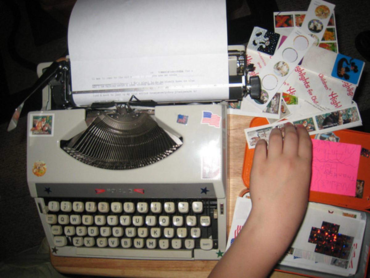 1967 Royal typewriter
