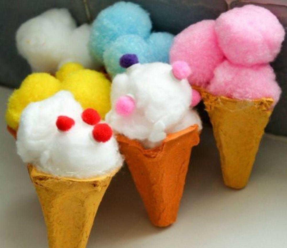 31 Cute Cotton Ball Craft Ideas