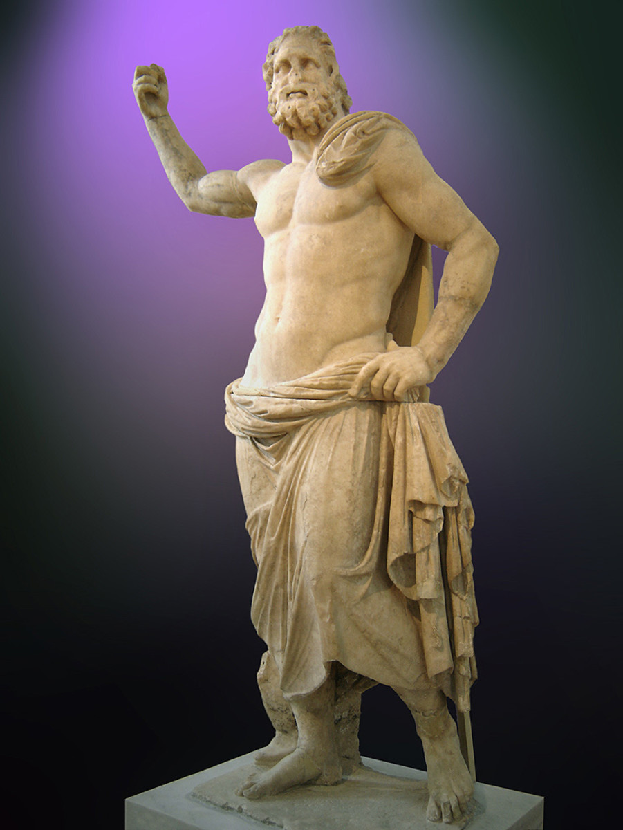 Poseidon from Milos, 2nd century BC (National Archaeological Museum of Athens)