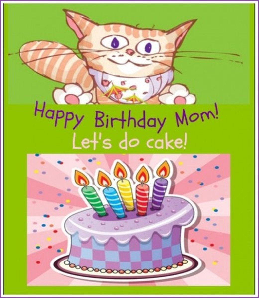 LOL Cat Mother Birthday Quote