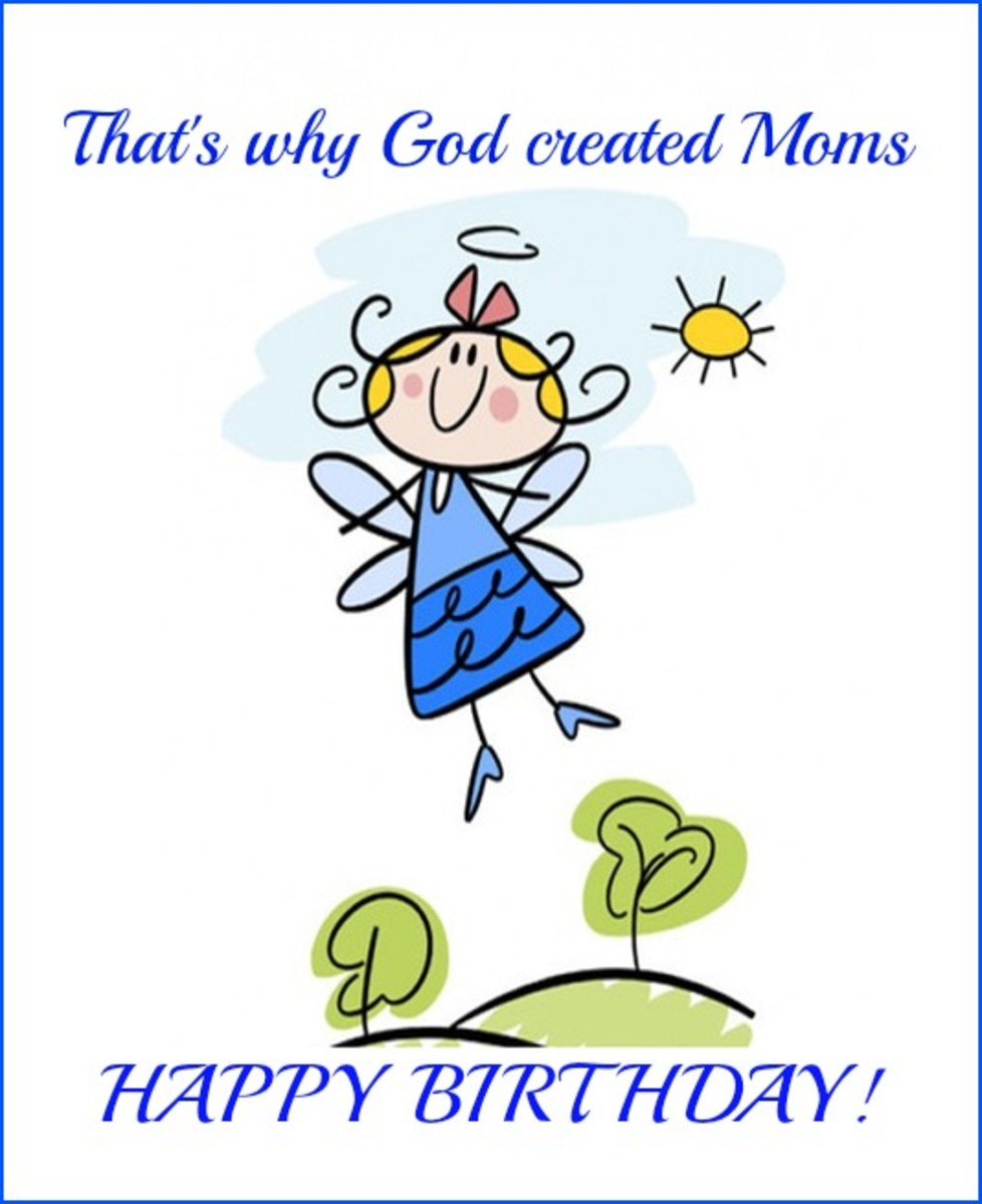 Inside Religious Mom Birthday Card