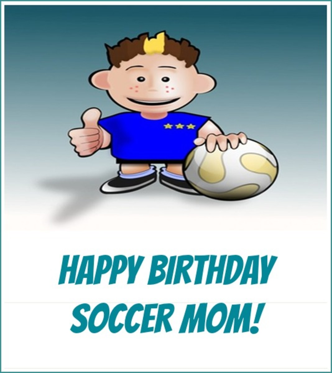 Inside Soccer Mom Birthday Wishes