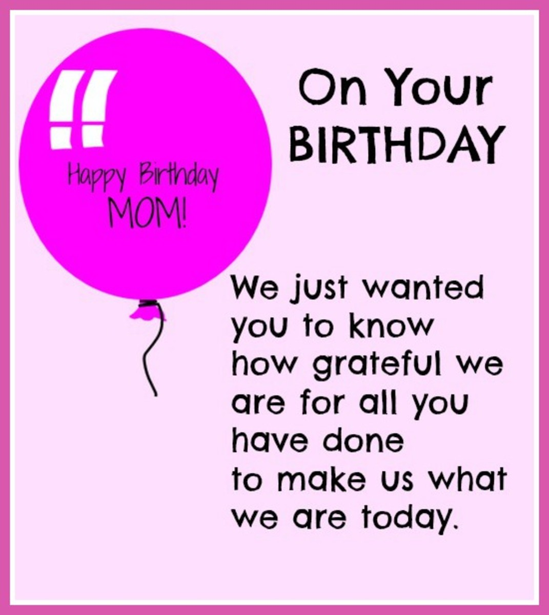 HAPPY BIRTHDAY MOM Birthday Wishes for Mom Funny Cards and Quotes OzaP0rIa