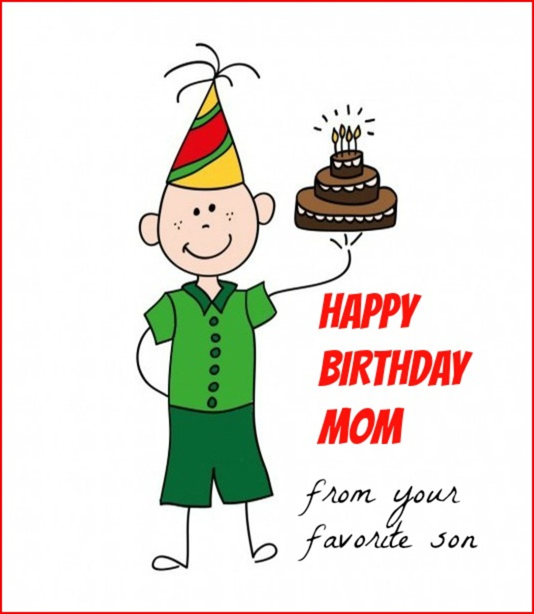 Happy Birthday Mom Quotes From Son In Hindi: Mother To Son Birthday Quotes. QuotesGram