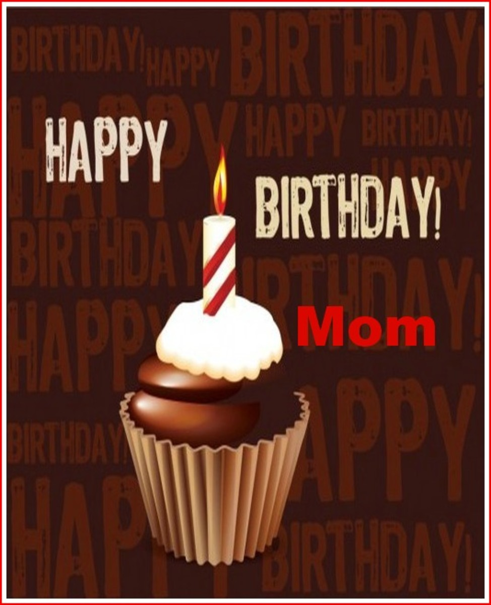 From the Family Birthday Wishes for Mom