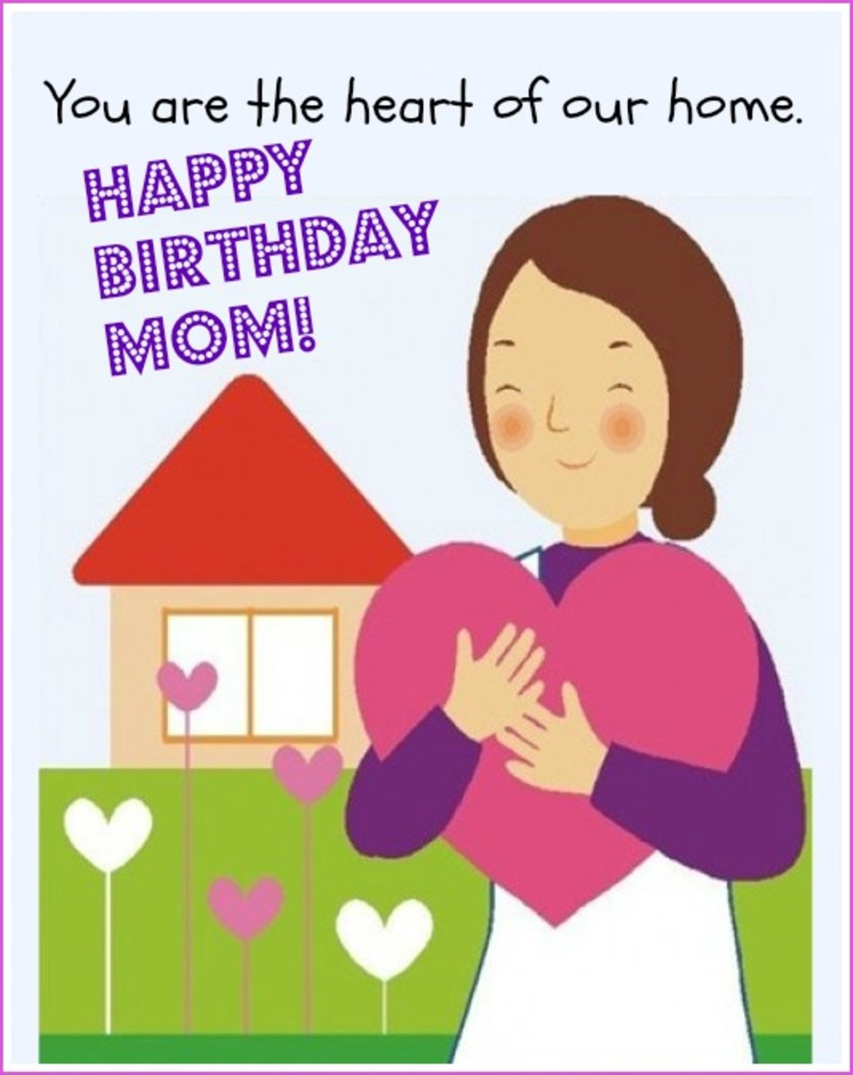 Favorite Mom Birthday Quote