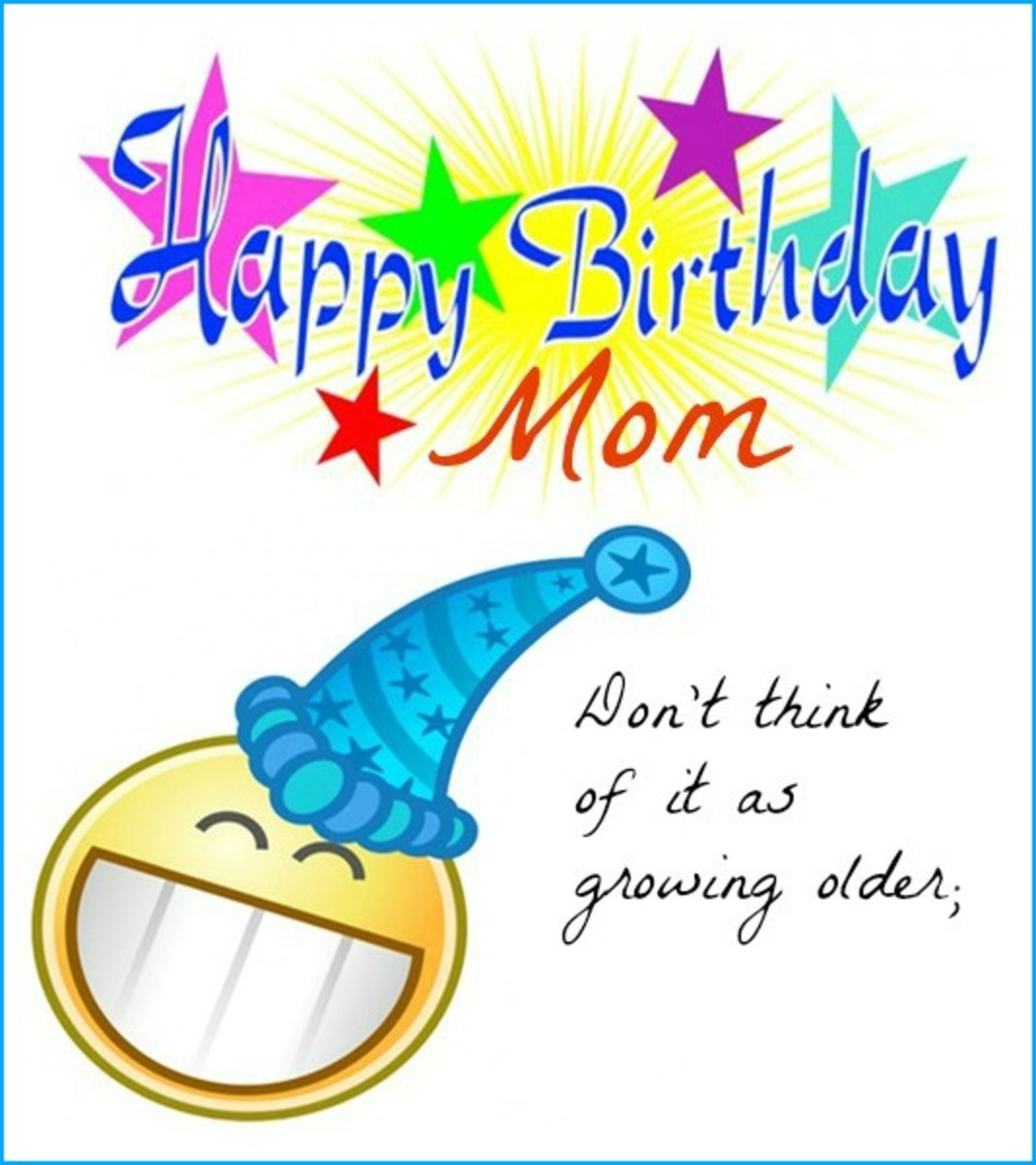 Funny Happy Birthday Mom