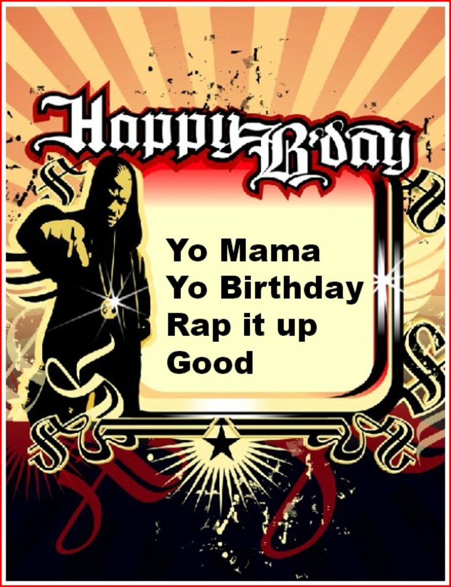 Rap Mother Birthday Quote