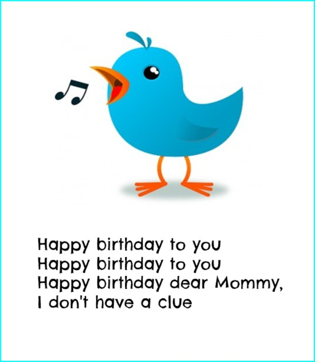 Funny Happy Birthday Mom Poem