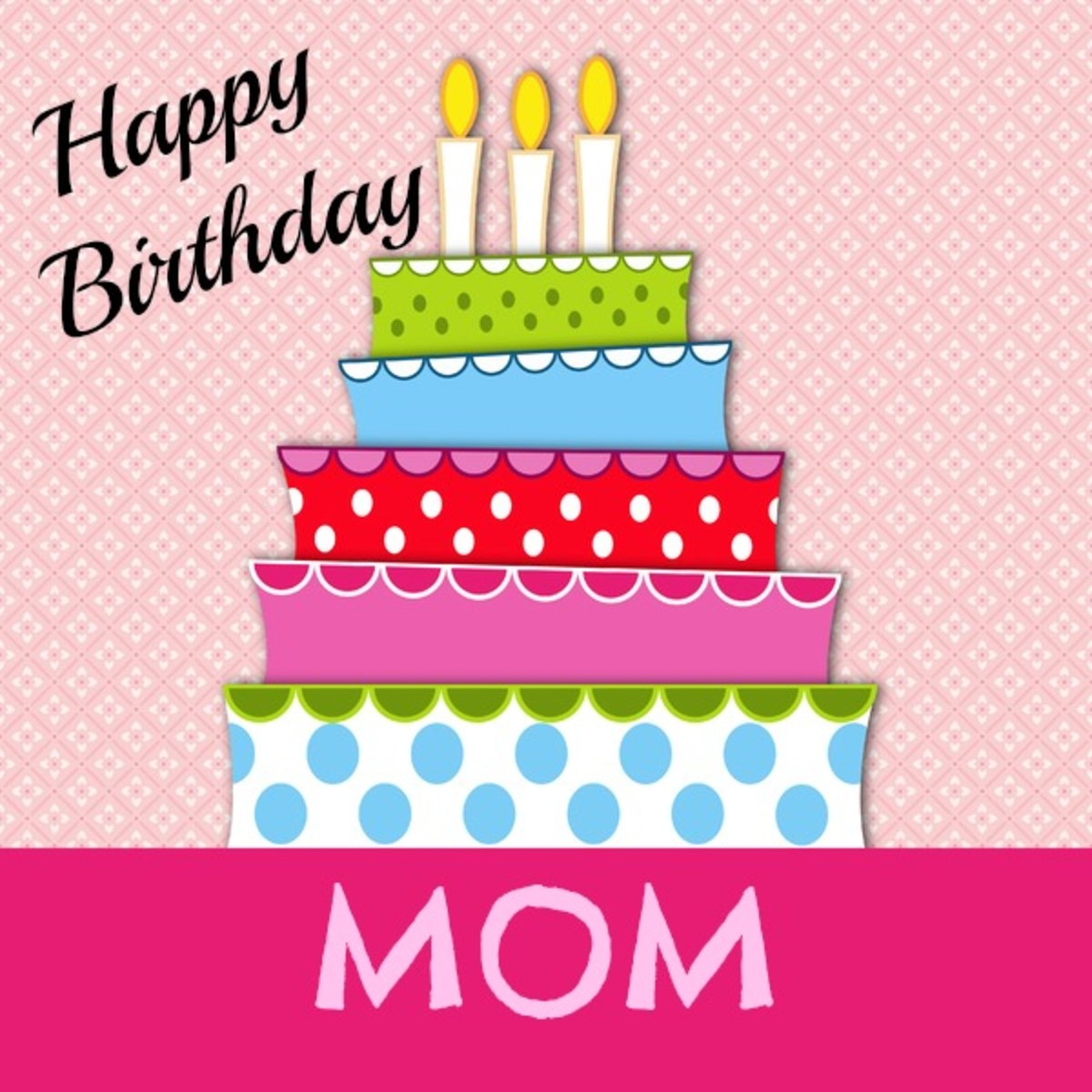 HAPPY BIRTHDAY MOM Birthday Wishes for Mom – Happy Birthday Greetings for Mom