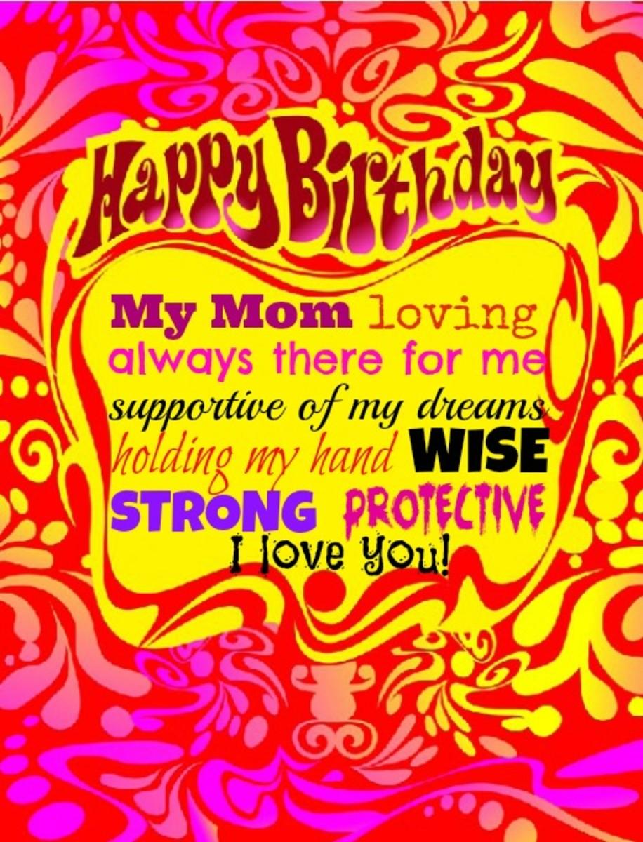 Mom Birthday Greeting