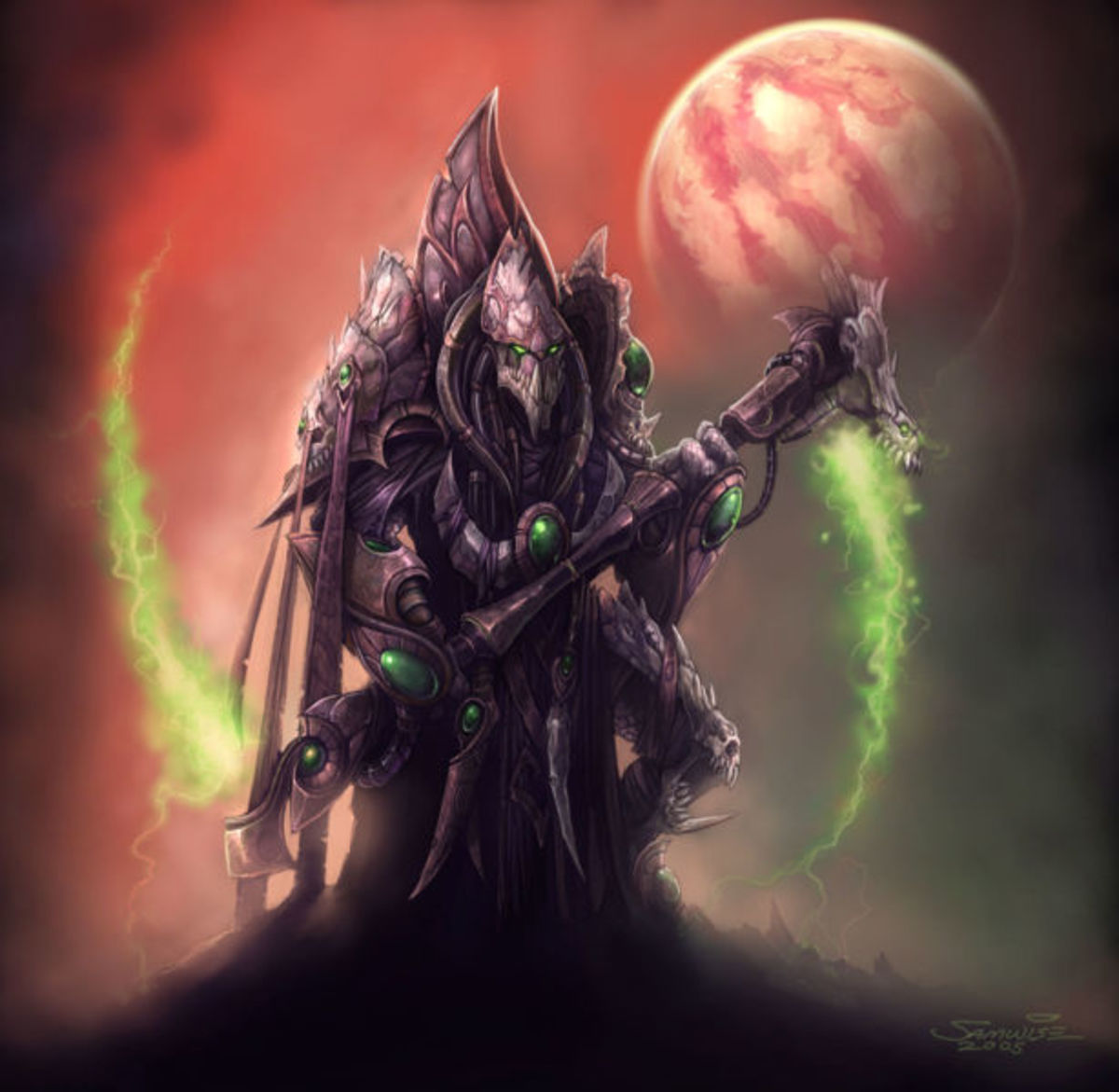 StarCraft 2 - A Protoss creature named Dark Templar