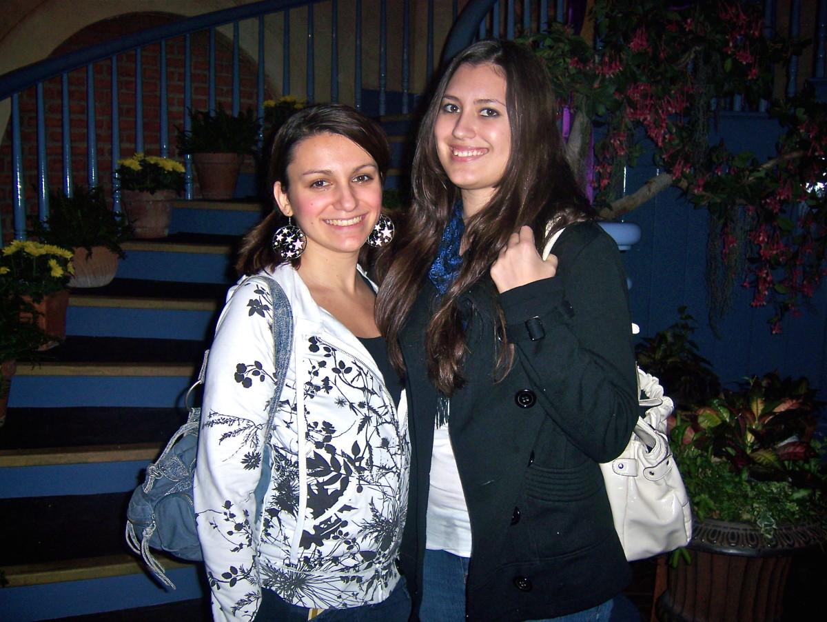 Me and Jen Christmas 2009.