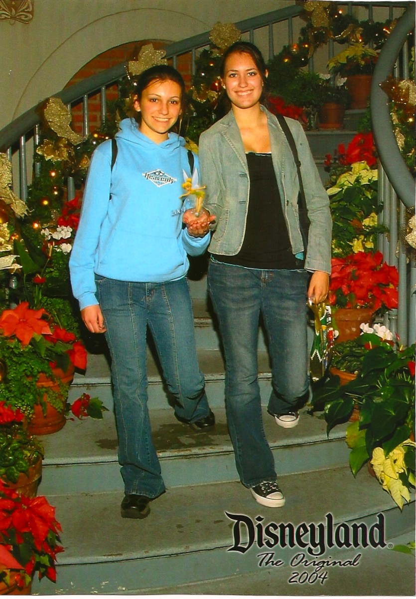 During Christmas in 2004 with Jen.