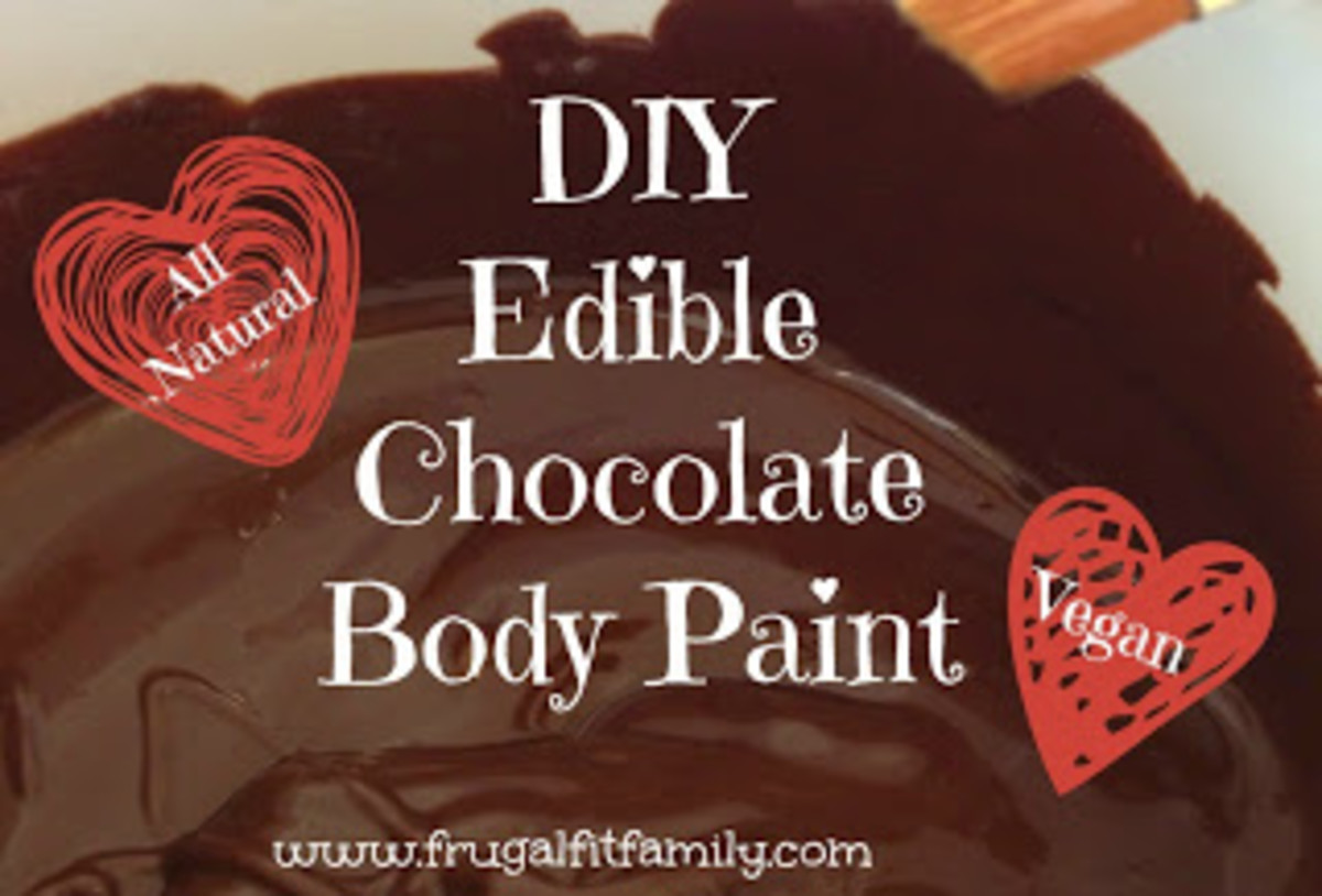 DIY Chocolate Body Paint
