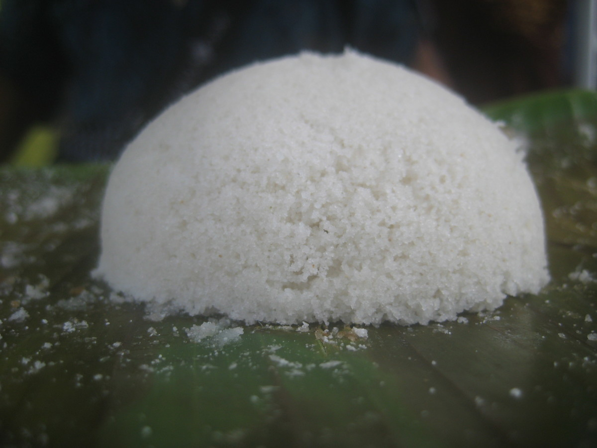 Rice cake just waiting to be eaten or sold if you want to build a business or livelihood out of it