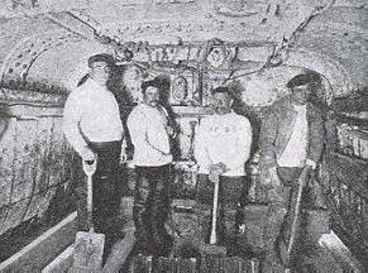 Inside the new diving bell