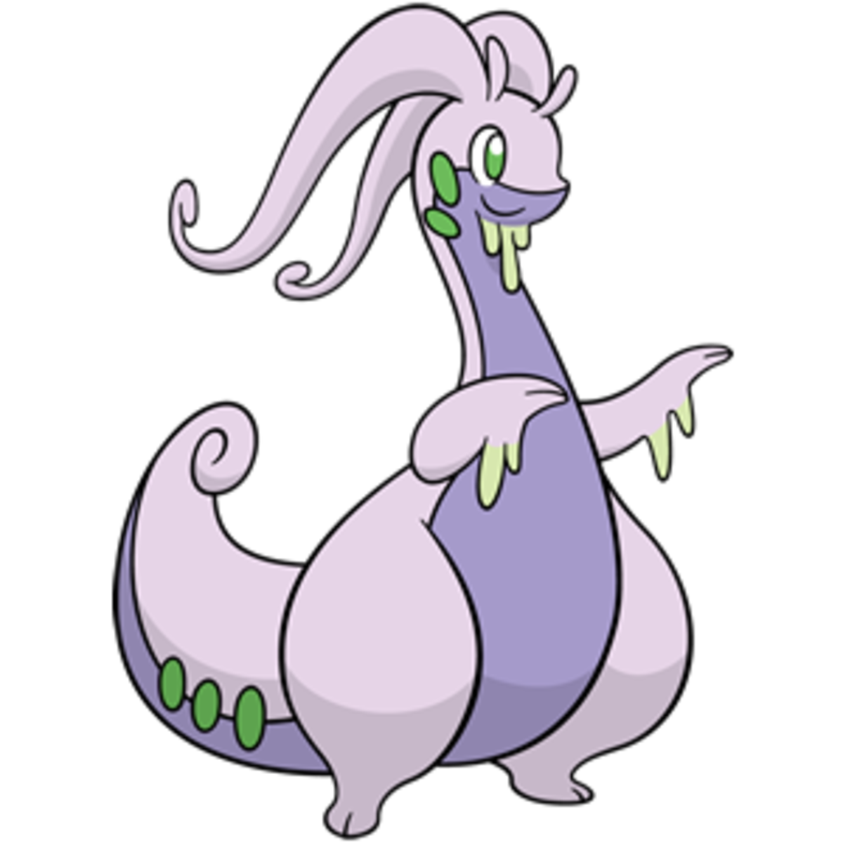 Pokémon X and Y Walkthrough, Pokémon Move Sets: Goodra