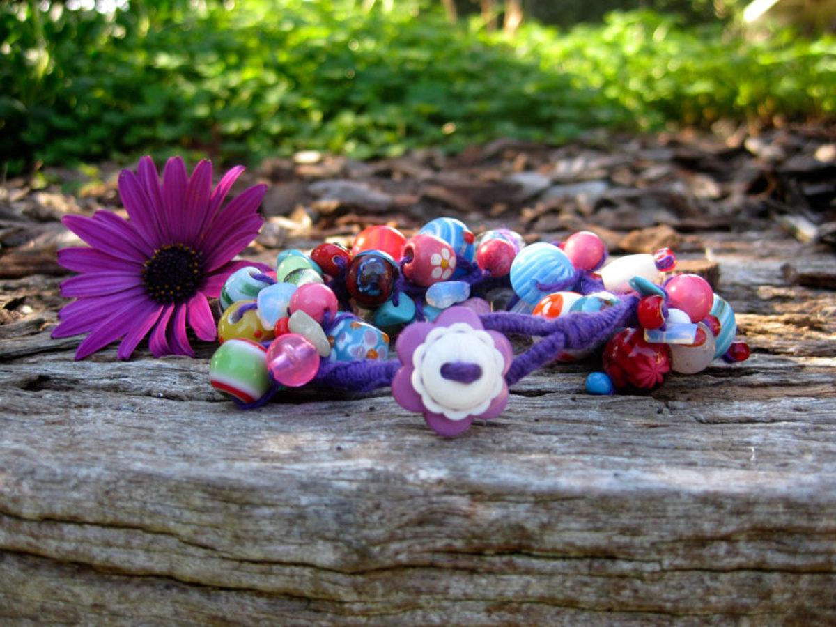 Stephanie Sersich's Spiny Knotted Bracelet