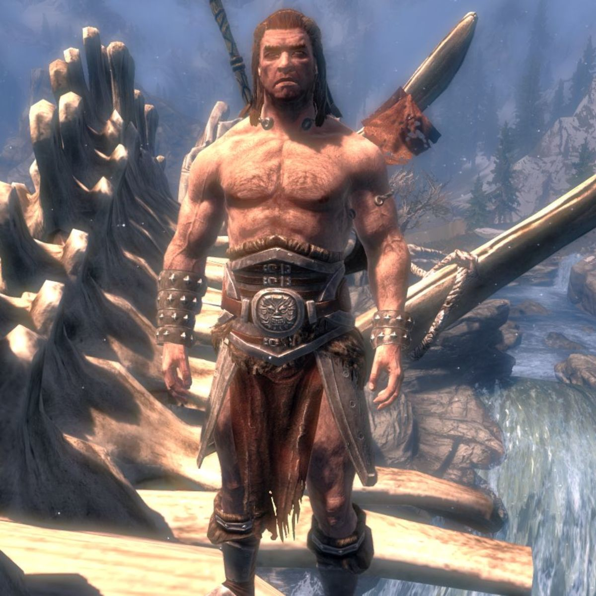 Barbarian at first sight.
