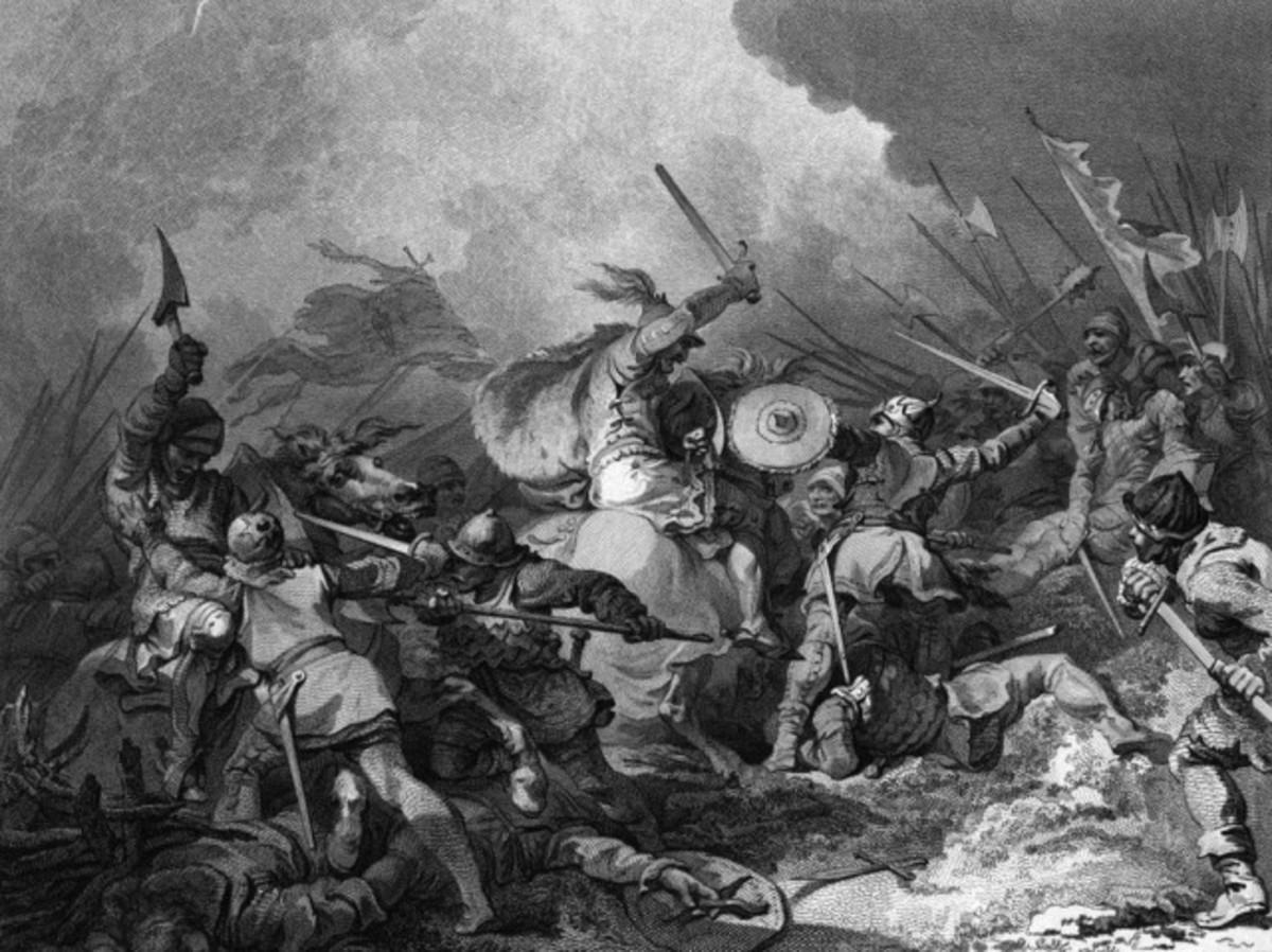 Battle of Hastings 2 painting