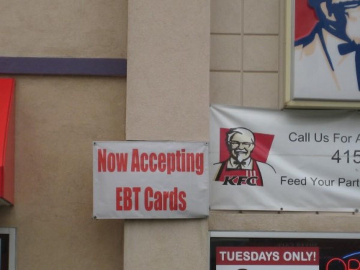 We Accept EBT Cards (at KFC??)