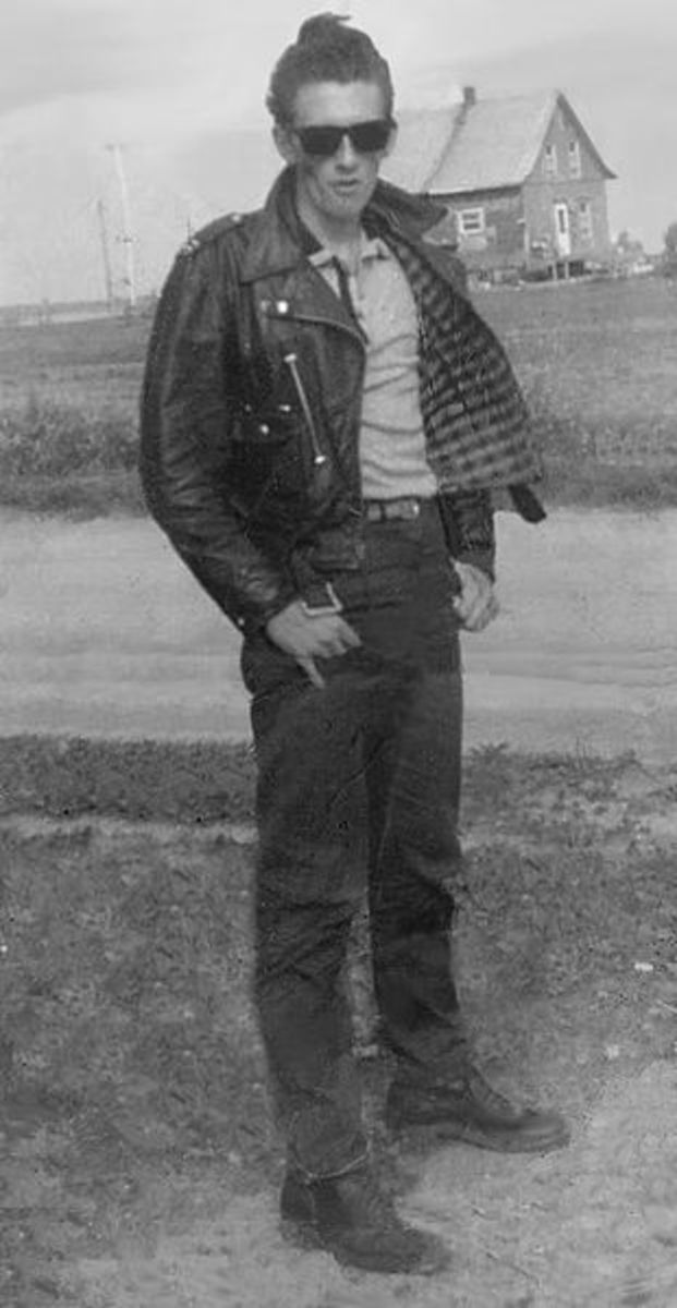Typical Greaser of the ;60s