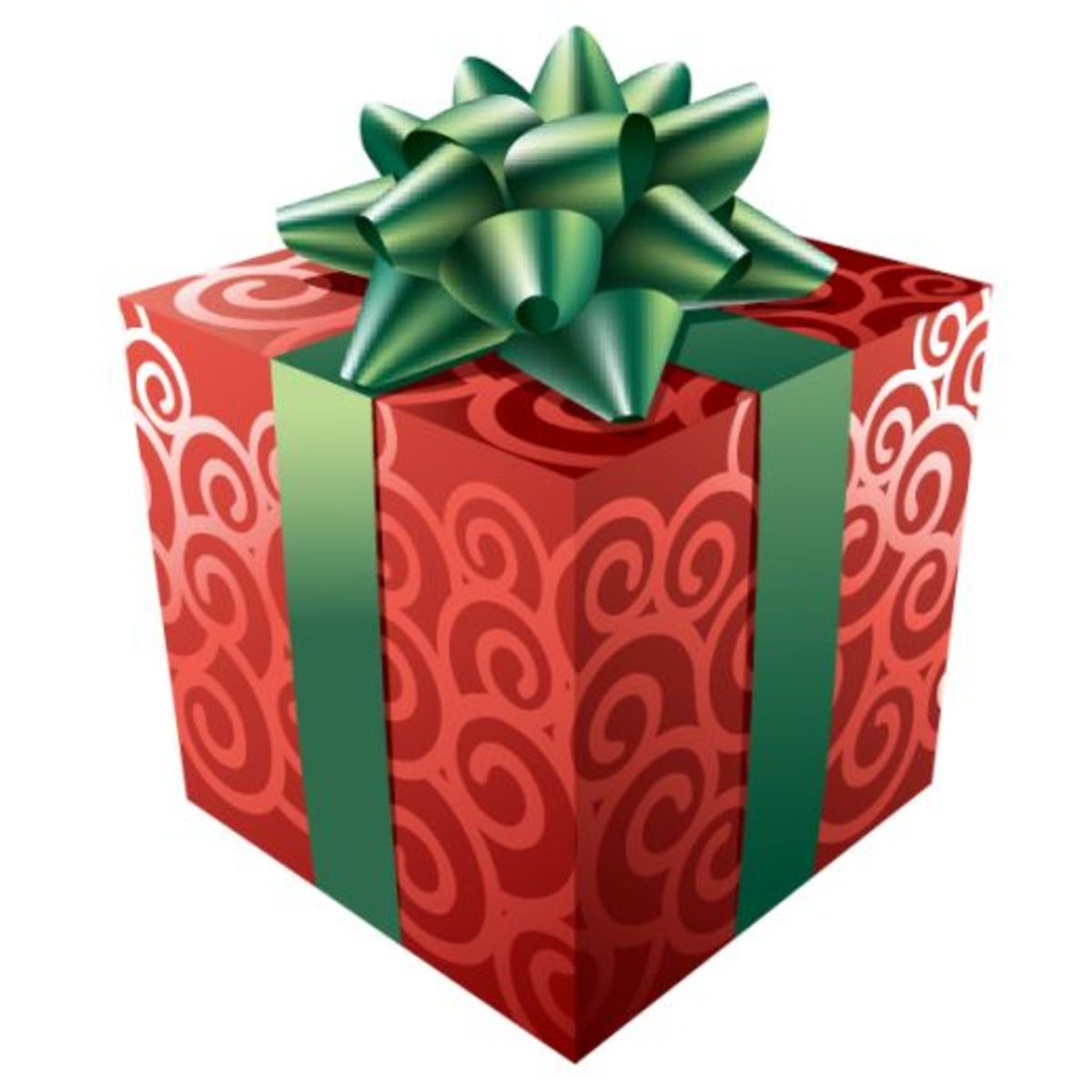 Christmas presents are usually nicely gift wrapped with bows and string, attached with gift tags.