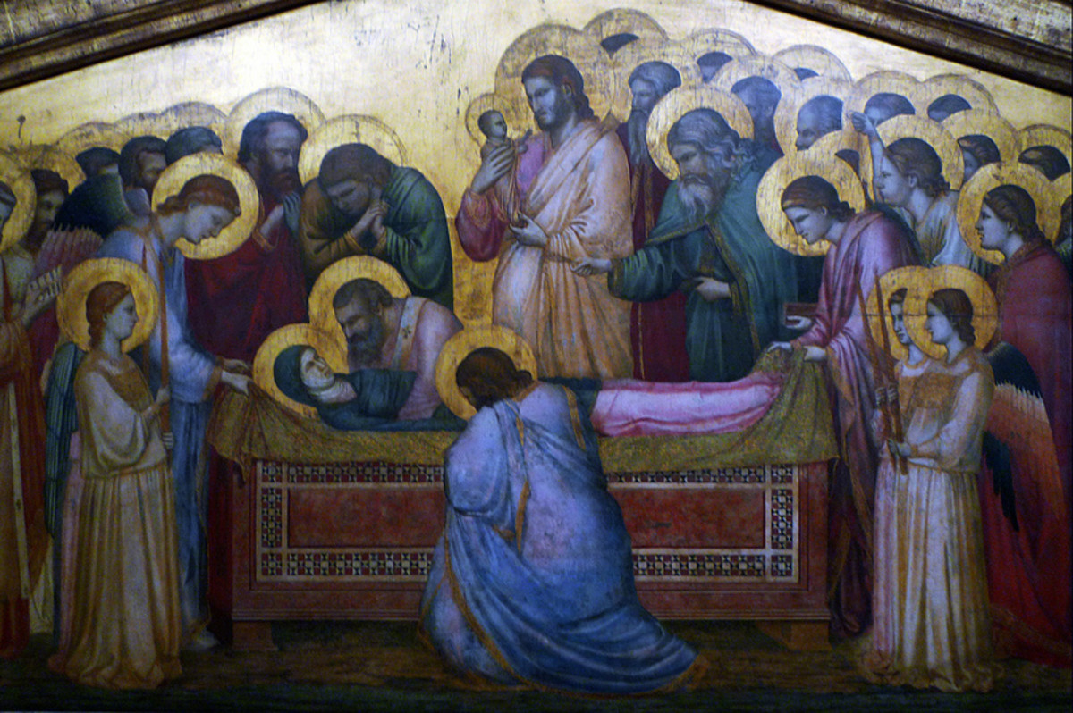 Giotto, Dormitio Virginis (1312-1314), Berlin State Museum,