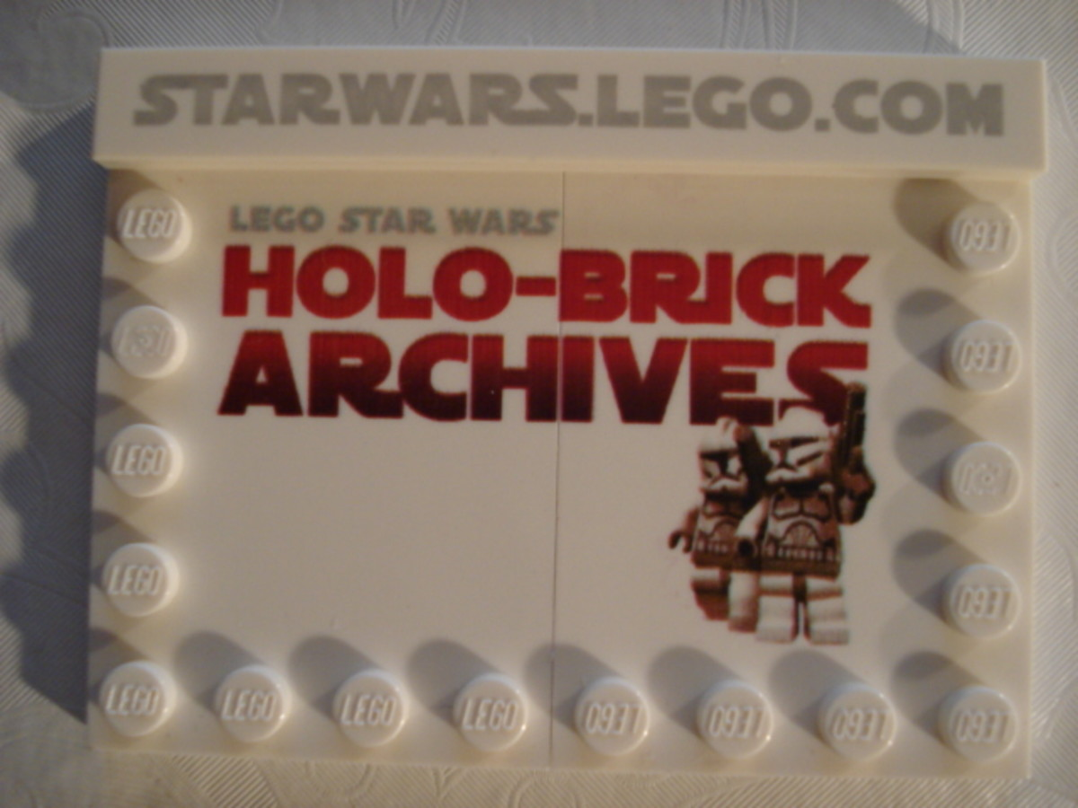 LEGO Star Wars Holo Brick Archives