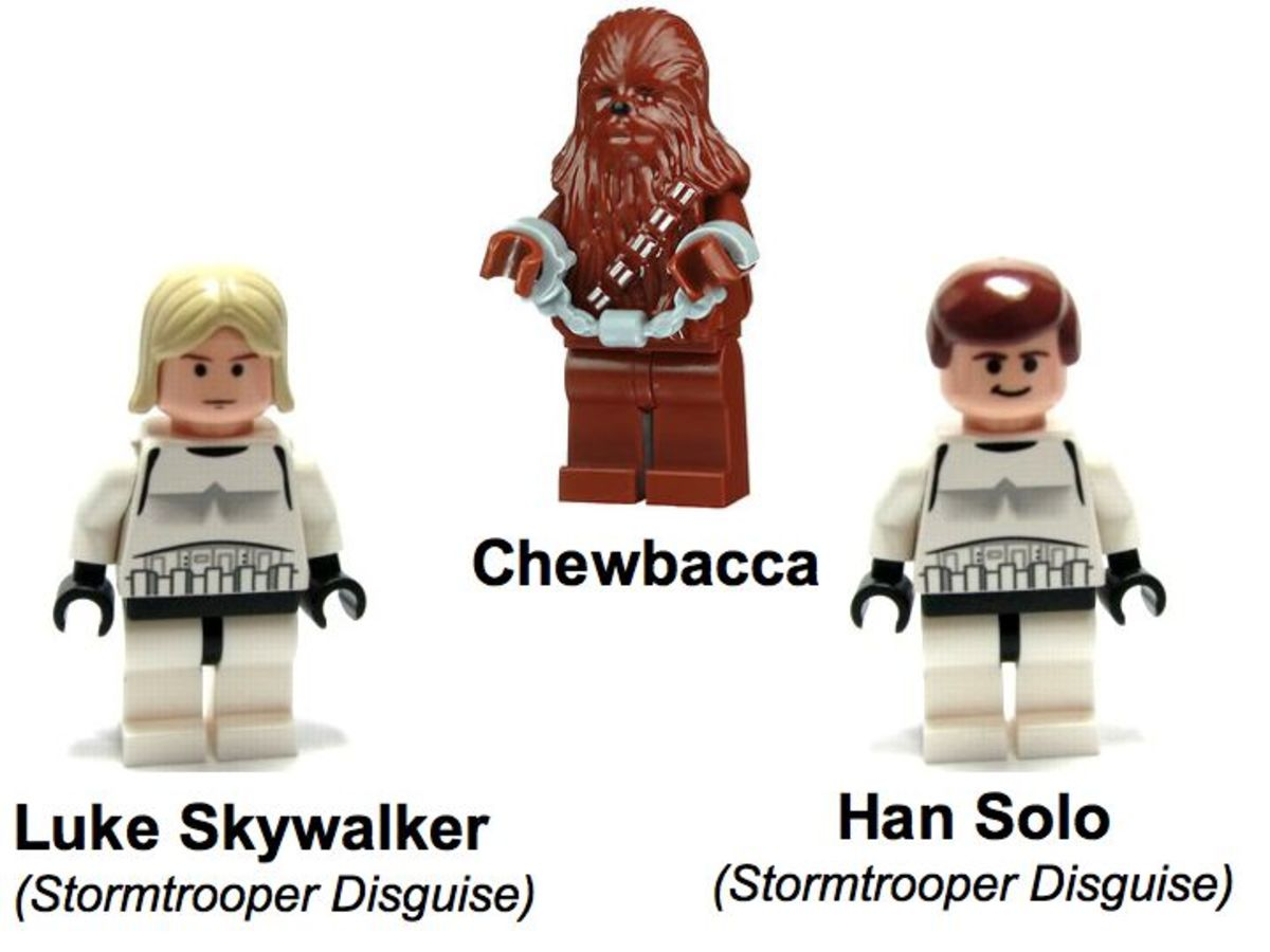 SDCC LEGO Star Wars Collectible Display Set 5 Minifigures
