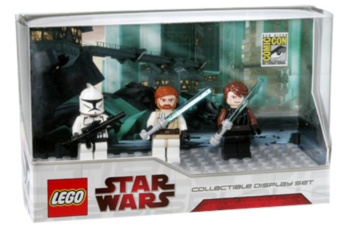 SDCC LEGO Star Wars Collectible Display Set 2 Box