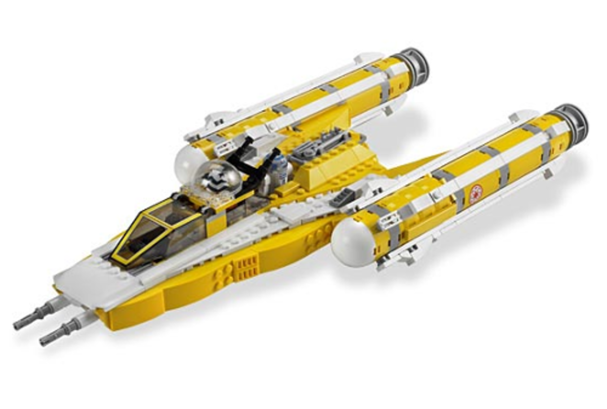 LEGO Star Wars Anakin's Y-Wing Starfighter 8037 Assembled