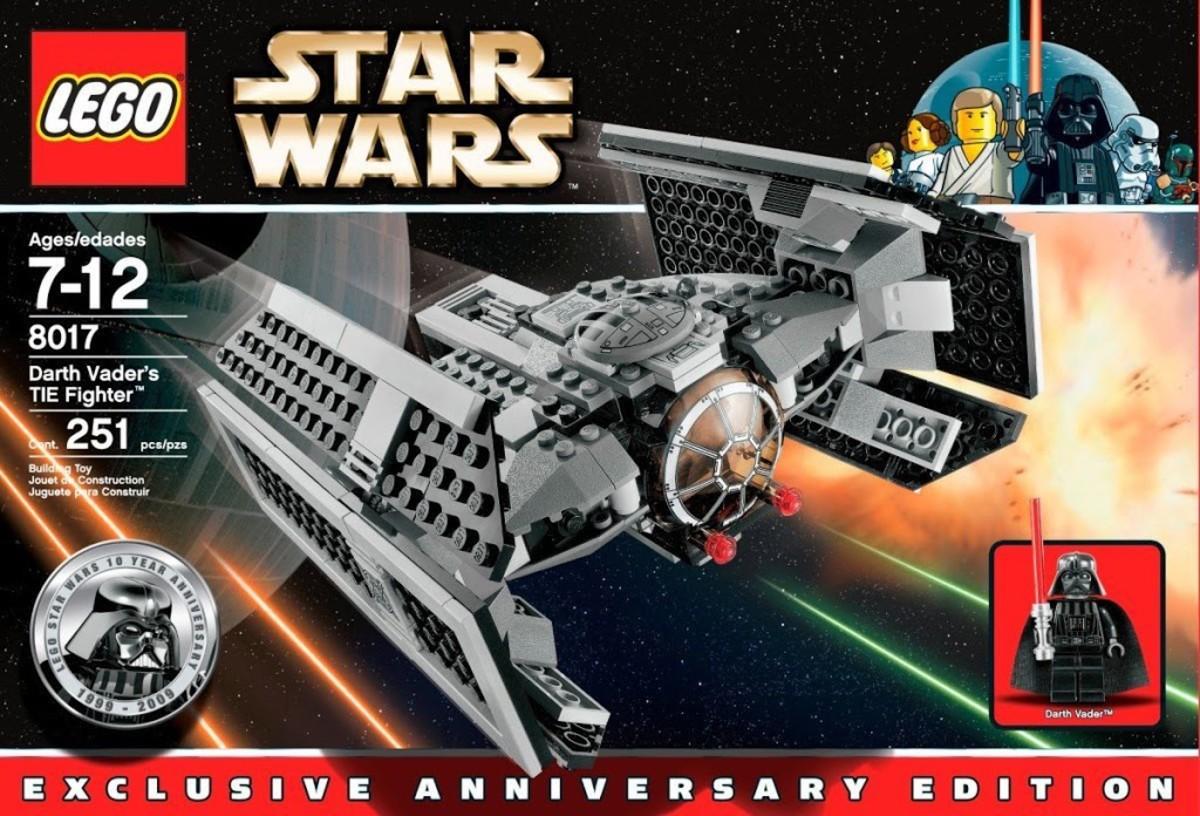 LEGO Star Wars Darth Vader's TIE Fighter 8017 Box