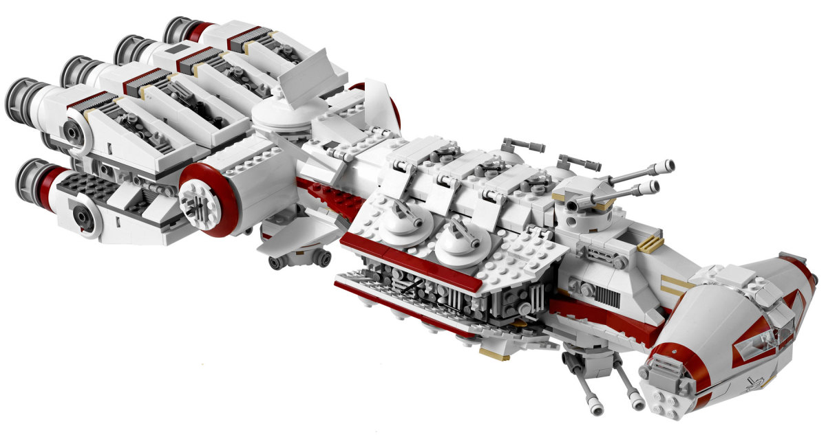 LEGO Star Wars Tantive IV 10198 Assembled