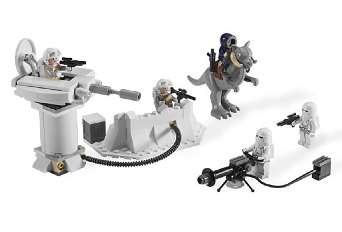 LEGO Star Wars Echo Base 7749 Assembled