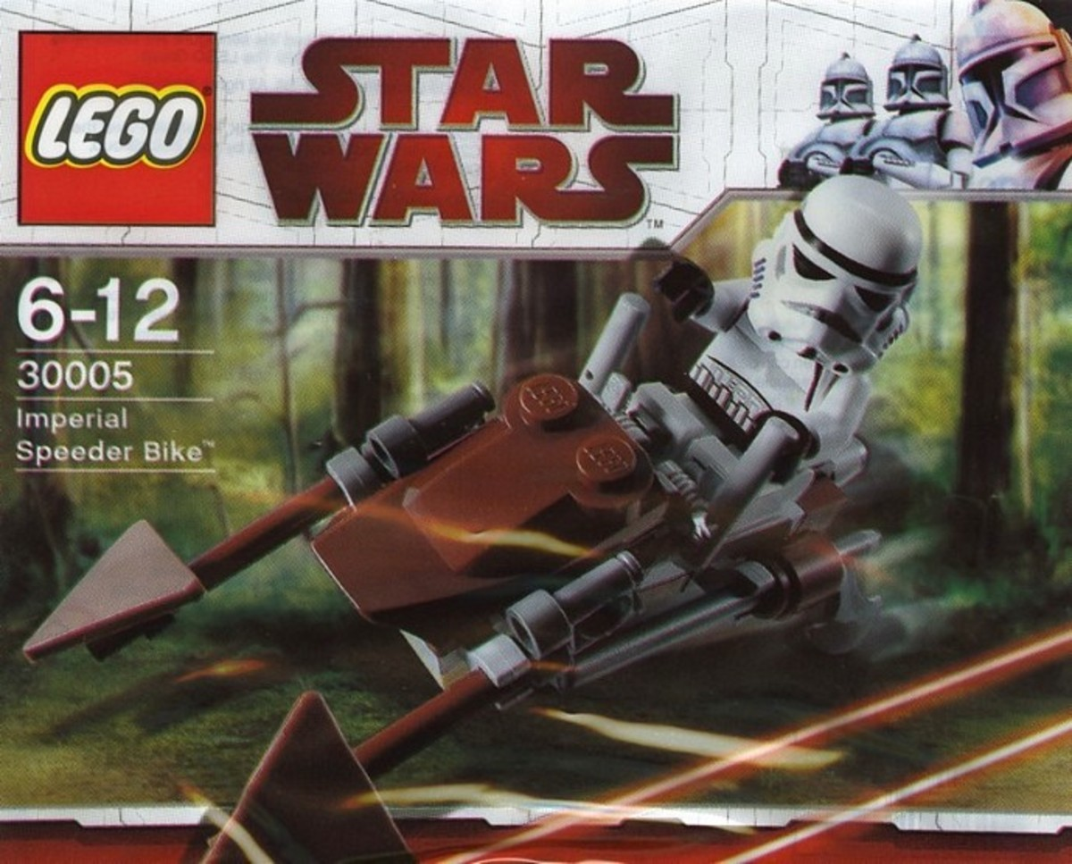 LEGO Star Wars Imperial Speeder Bike 30005 Bag