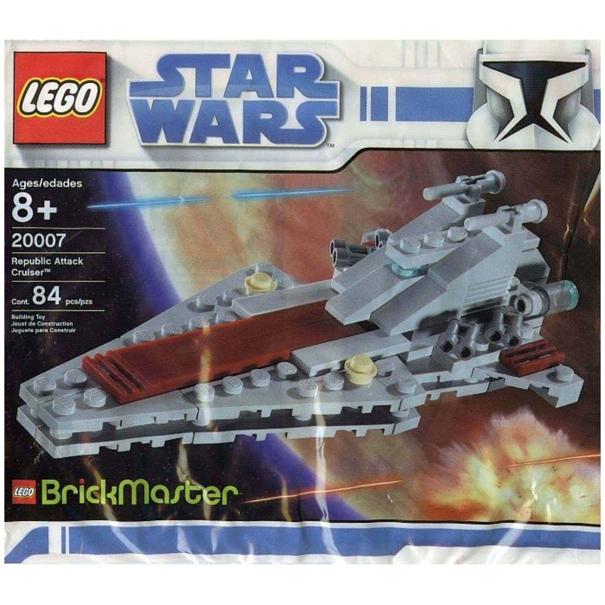 LEGO Star Wars Republic Attack Cruiser 20007 Bag