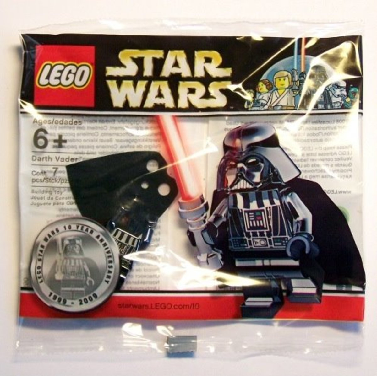 Lego Star Wars Darth Vader Chrome 4547551 Bag