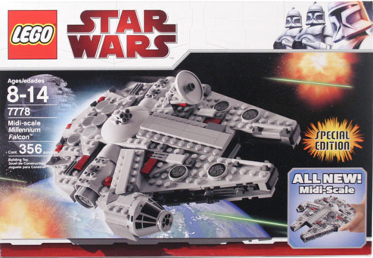 LEGO Star Wars Midi-Scale Millennium Falcon 7778 Box