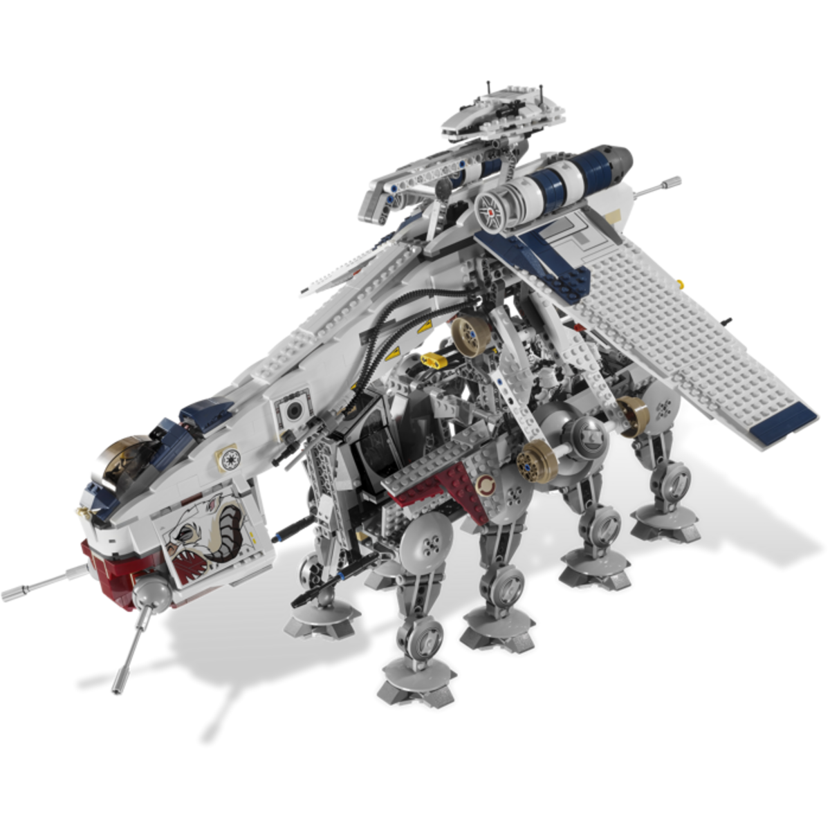 LEGO Star Wars Republic Dropship & AT-OT Walker 10195 Assembled