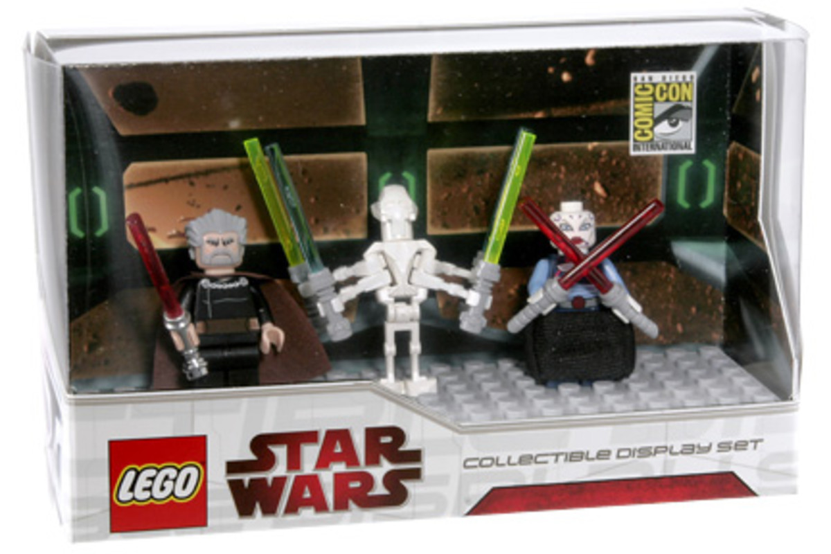 SDCC LEGO Star Wars Collectible Display Set 6 Box