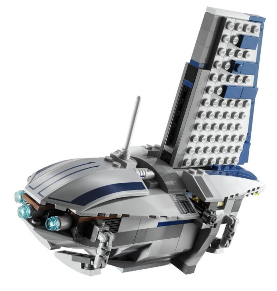 LEGO Star Wars Separatist Shuttle 8036 Assembled