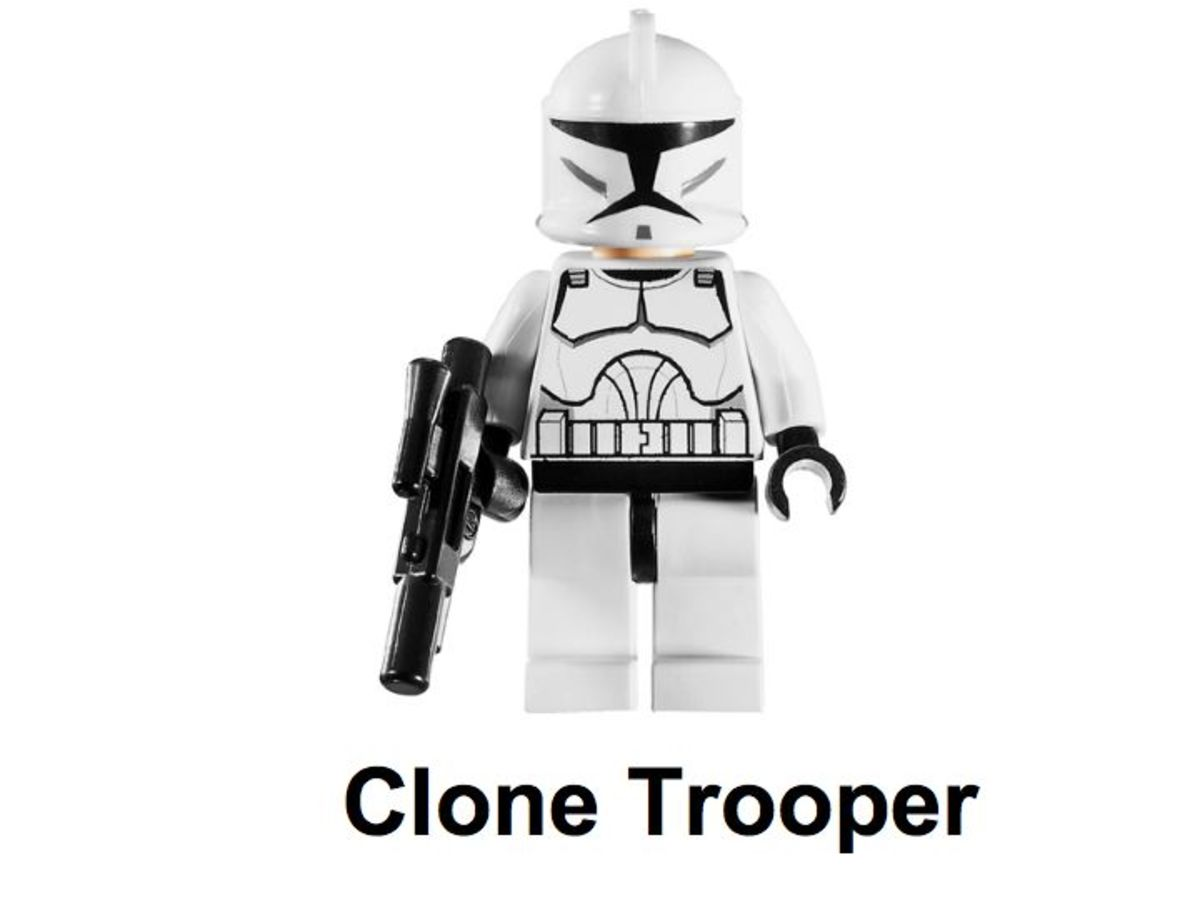 LEGO Star Wars Clone Walker 30006 Clone Trooper Minifigure