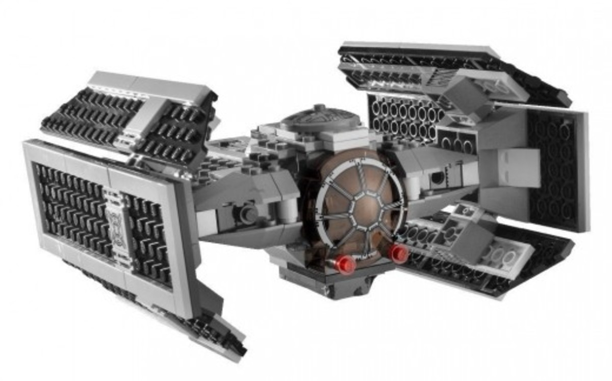 LEGO Star Wars Darth Vader's TIE Fighter 8017 Assembled