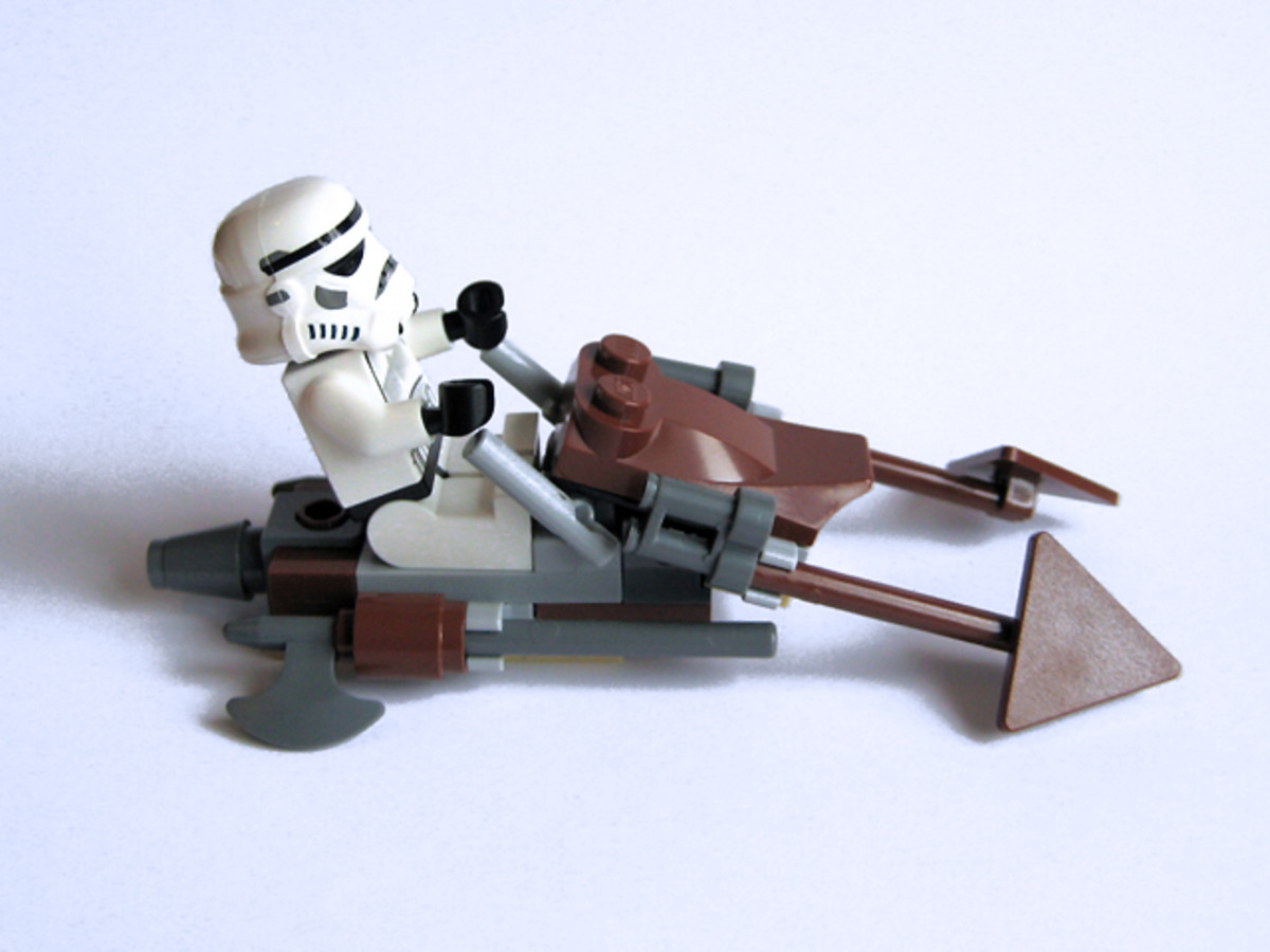 LEGO Star Wars Imperial Speeder Bike 30005 Assembled