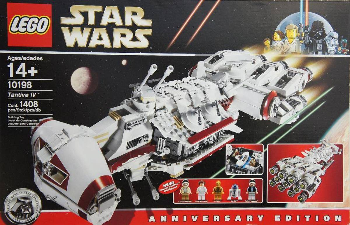 LEGO Star Wars Tantive IV 10198 Box