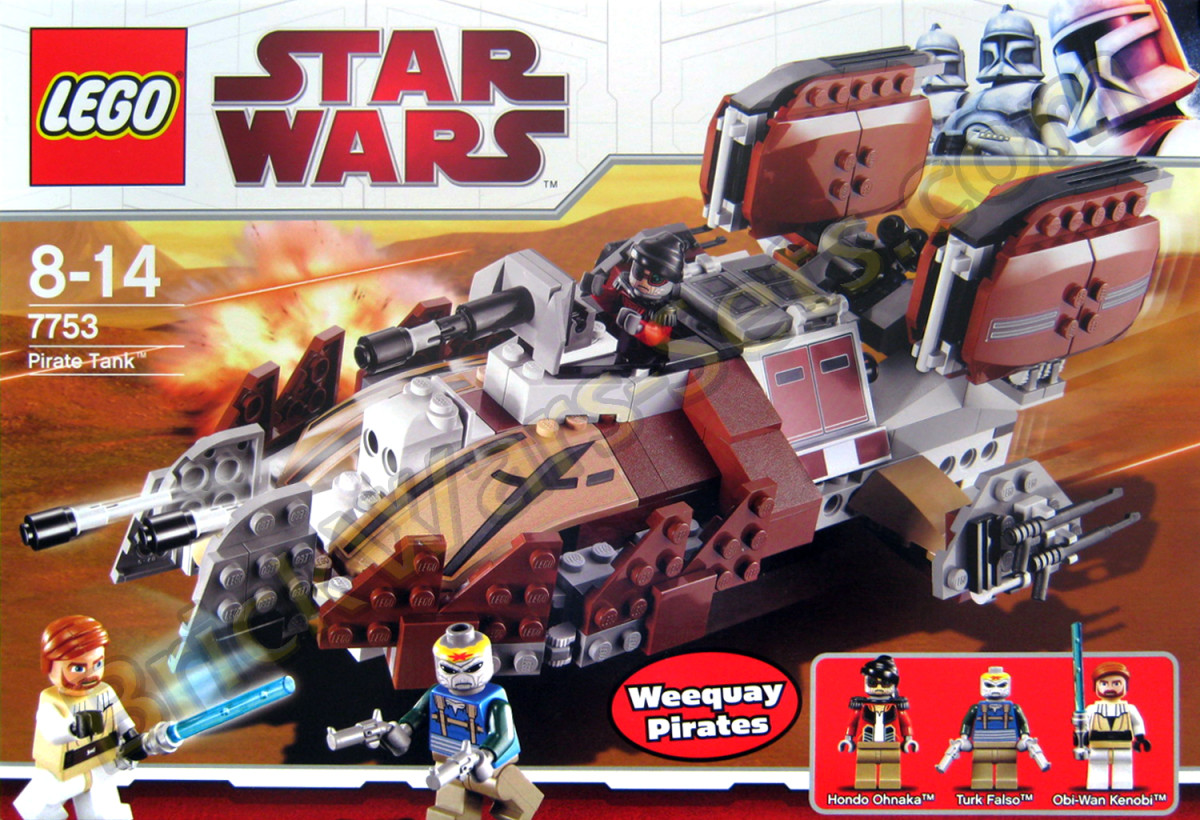 LEGO Star Wars Pirate Tank 7753 Box