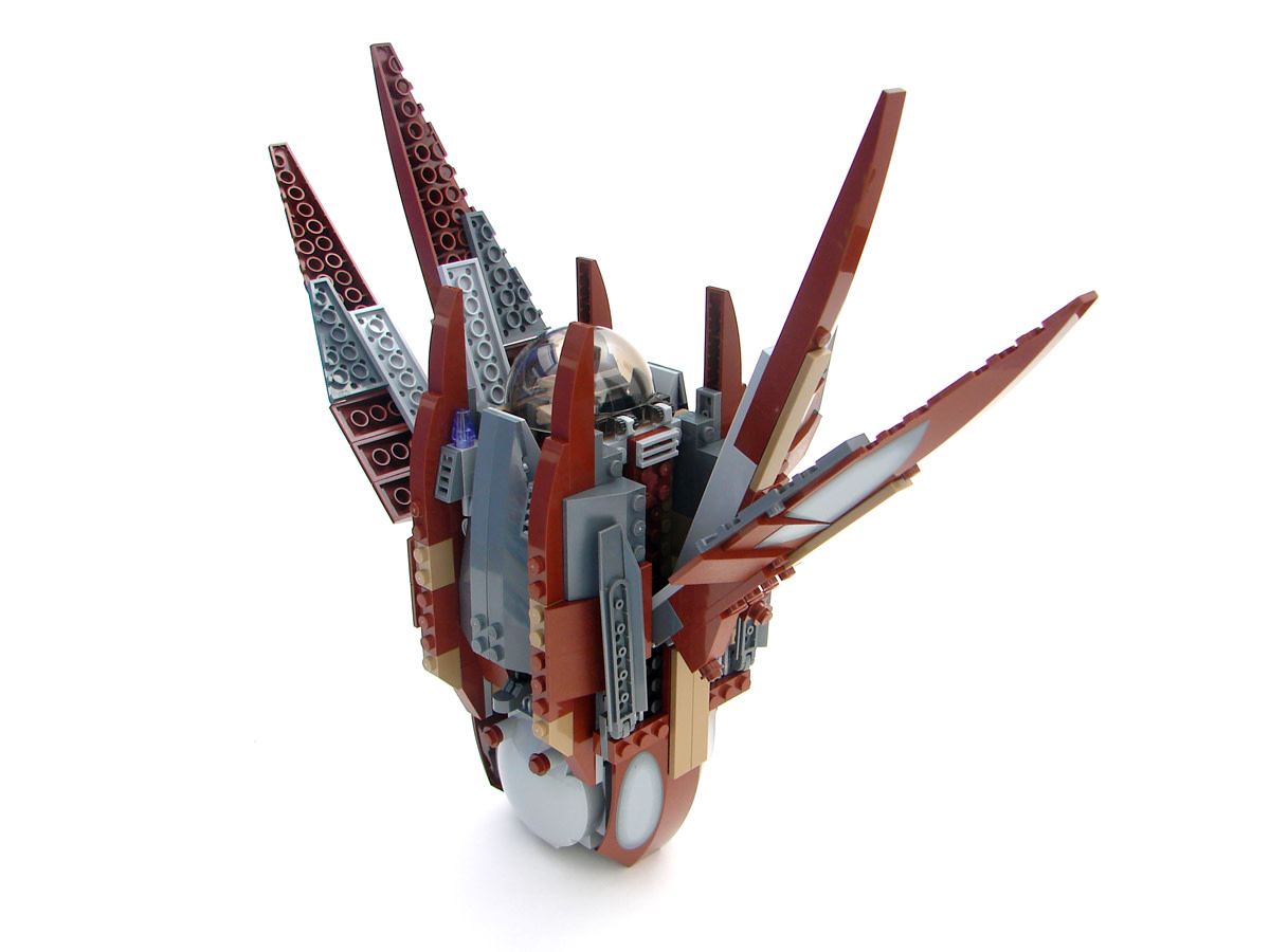 LEGO Star Wars Count Dooku's Solar Sailer 7752 Assembled