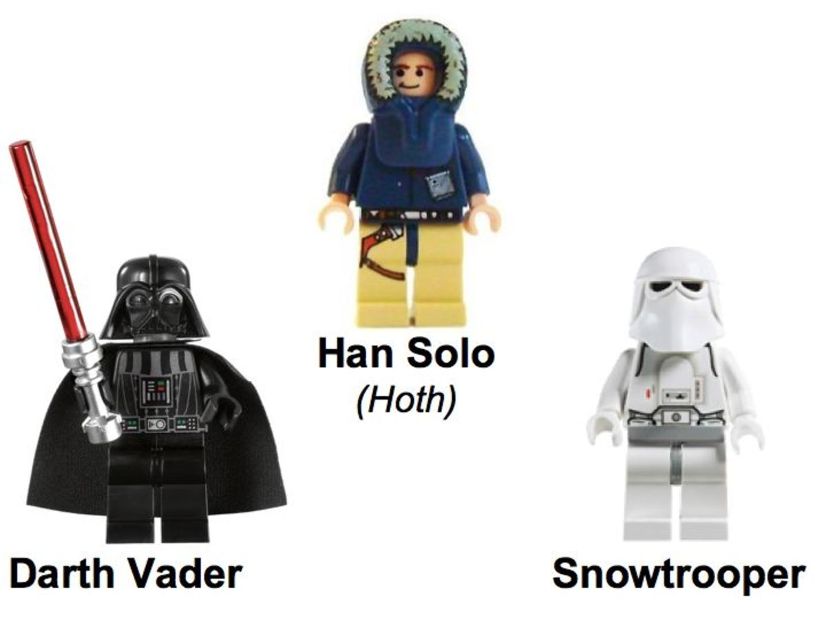 SDCC LEGO Star Wars Collectible Display Set 4 Minifigures
